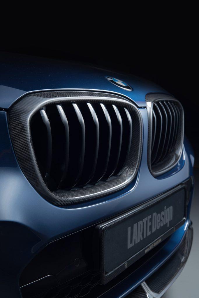 Передний бампер BMW X3 от Larte