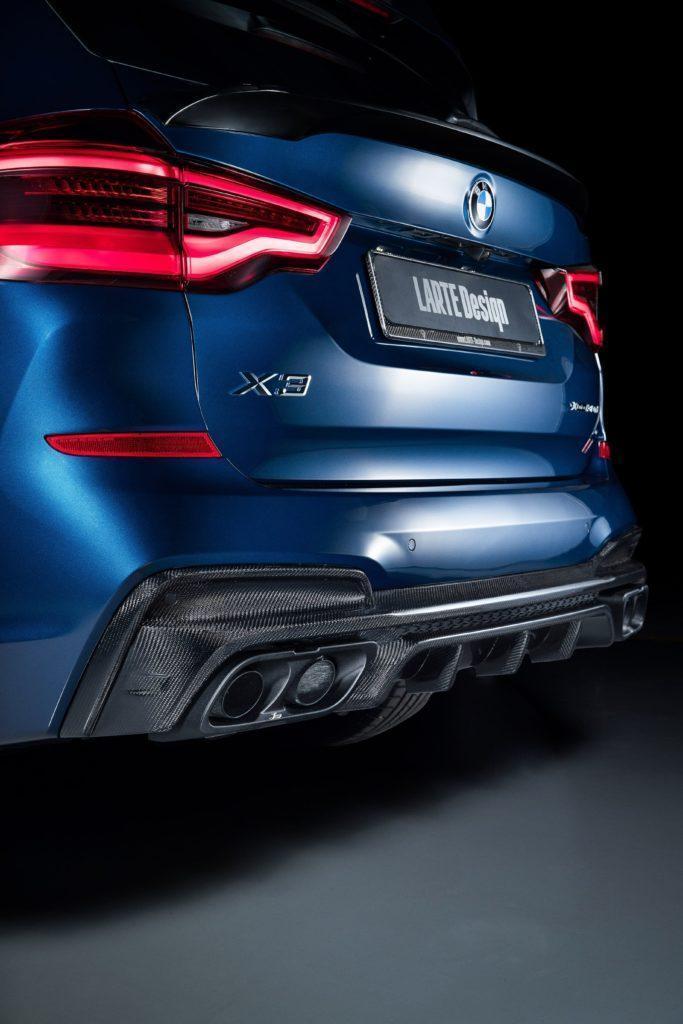 Задний бампер BMW X3 от Larte