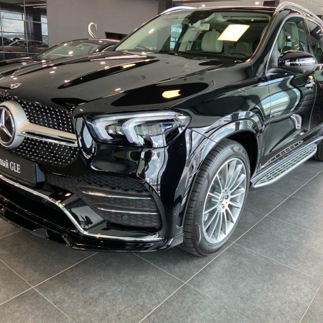 Тюнинг для Mercedes-Benz от Larte вид спереди