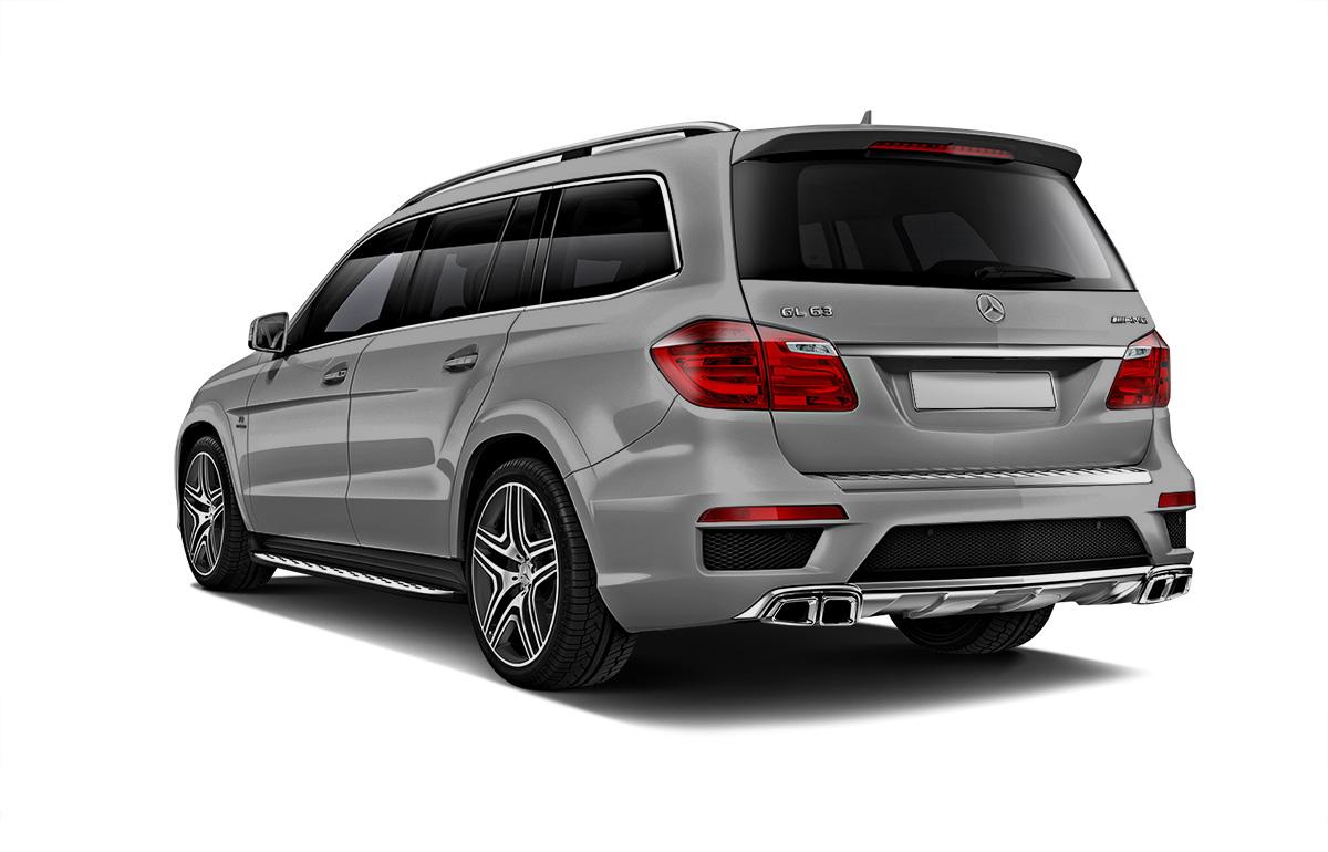 Mercedes-Benz GL вид сзади