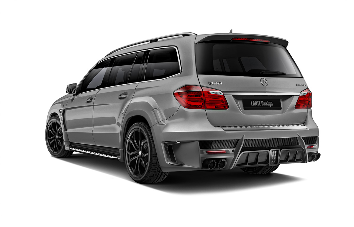 Серый Black Crystal для Mercedes-Benz GL X166
