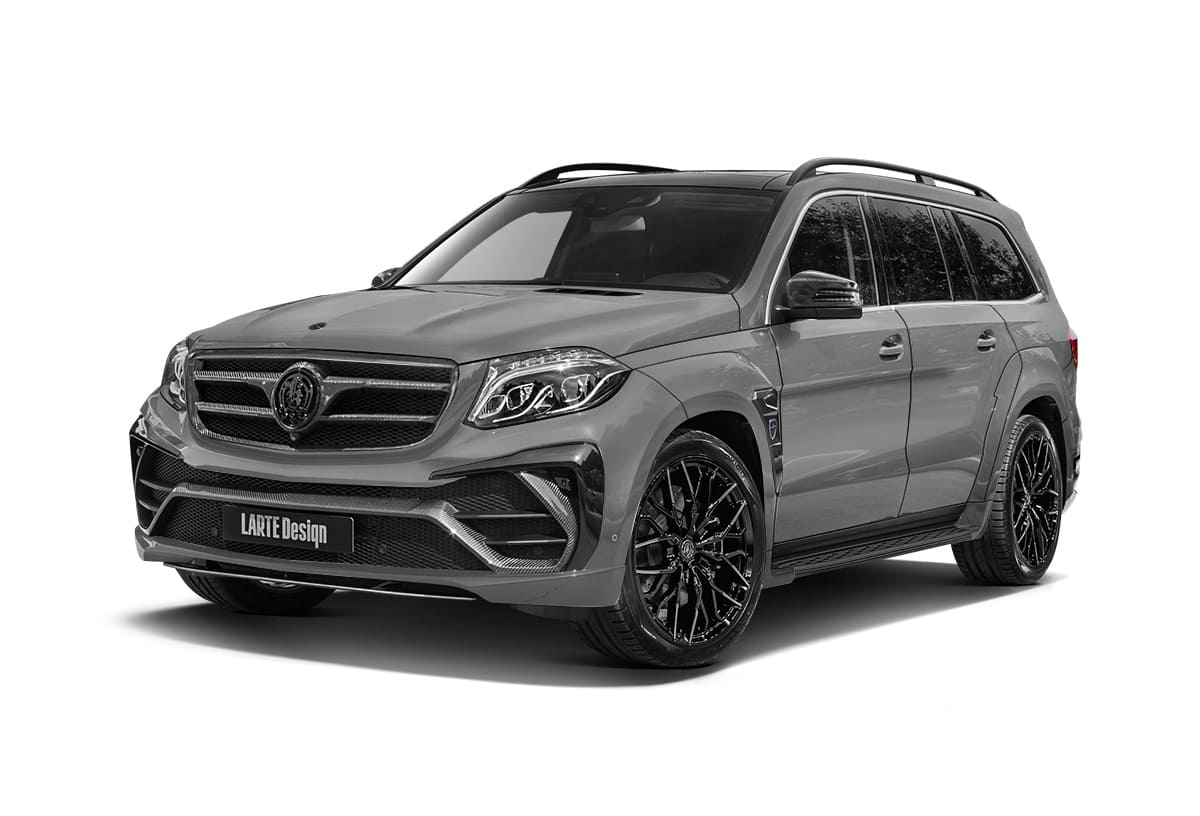 Серый Black Crystal для Mercedes-Benz GLS X166
