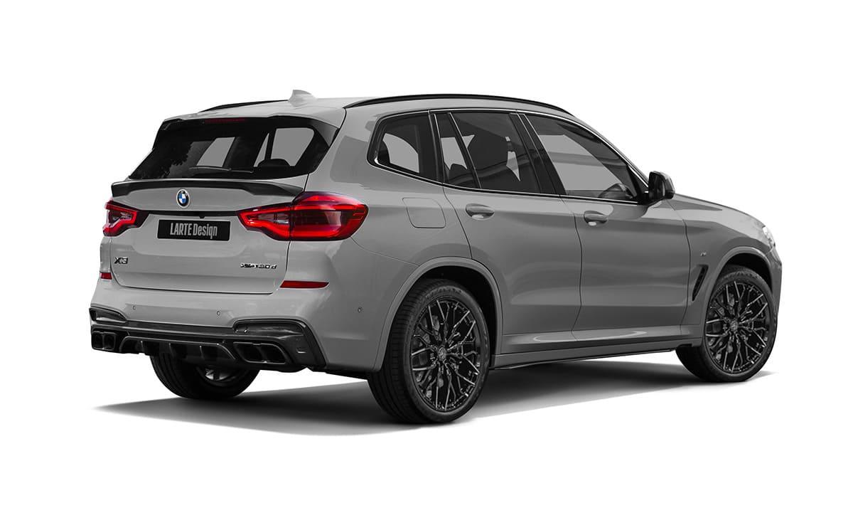 Тюнинговый комплект в обвесе для BMW X3 G01
