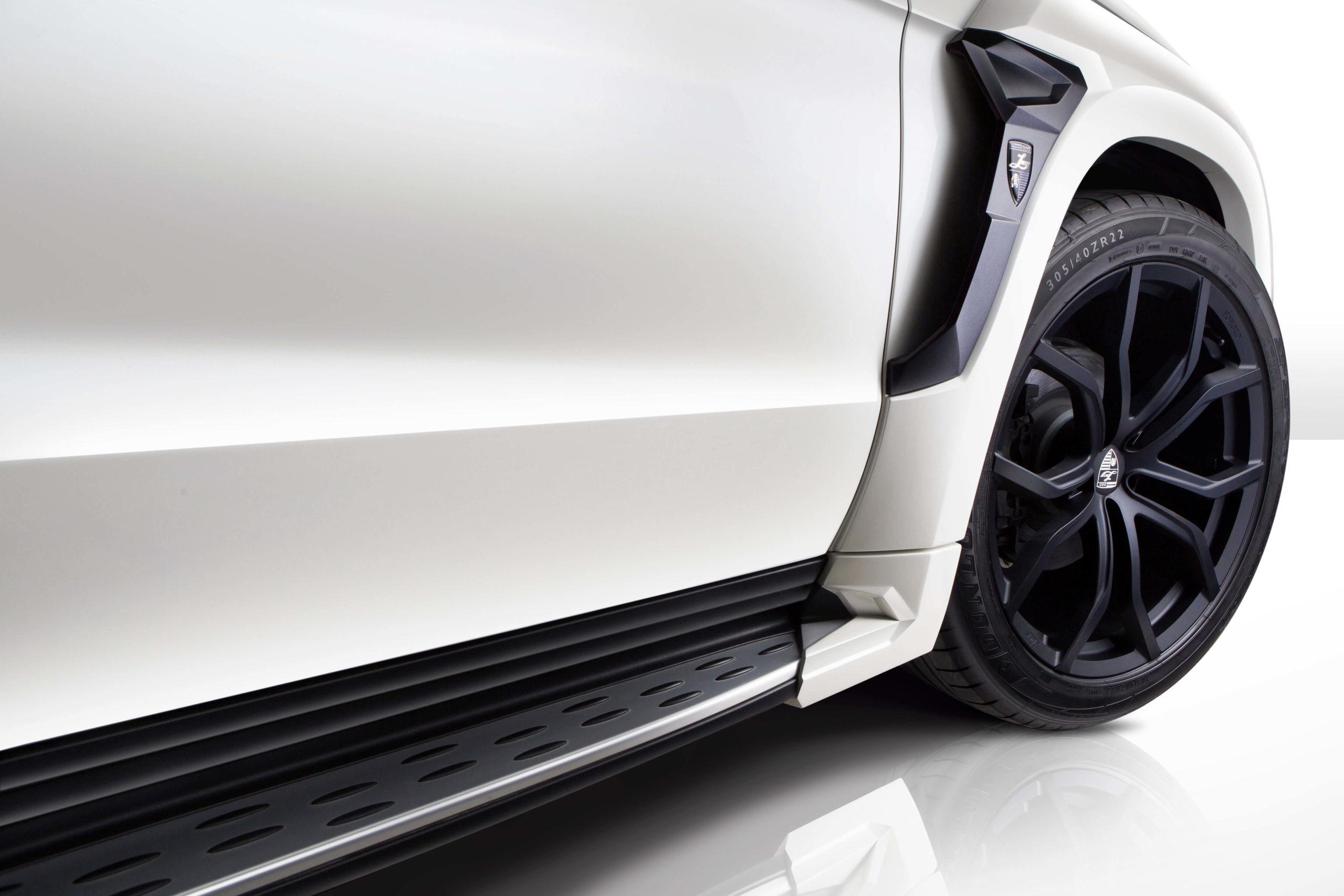 Нижняя дверца для Mercedes-Benz GL от Larte