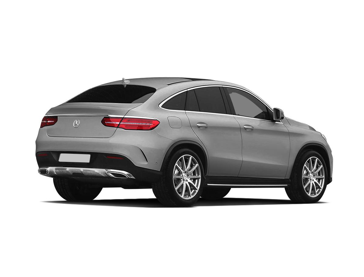 Серый Mercedes-Benz GLE Coupe