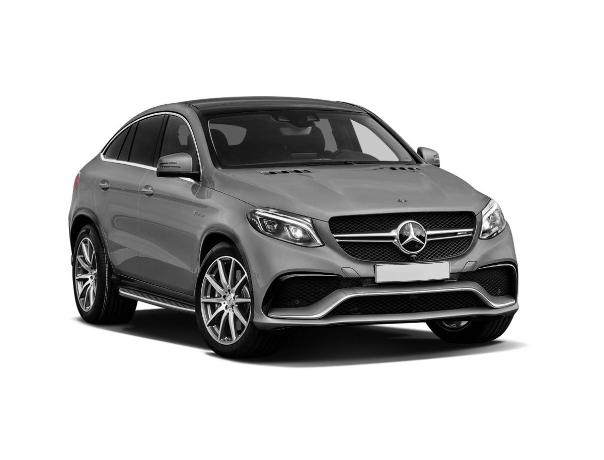 Mercedes-Benz GLE Coupe вид спереди