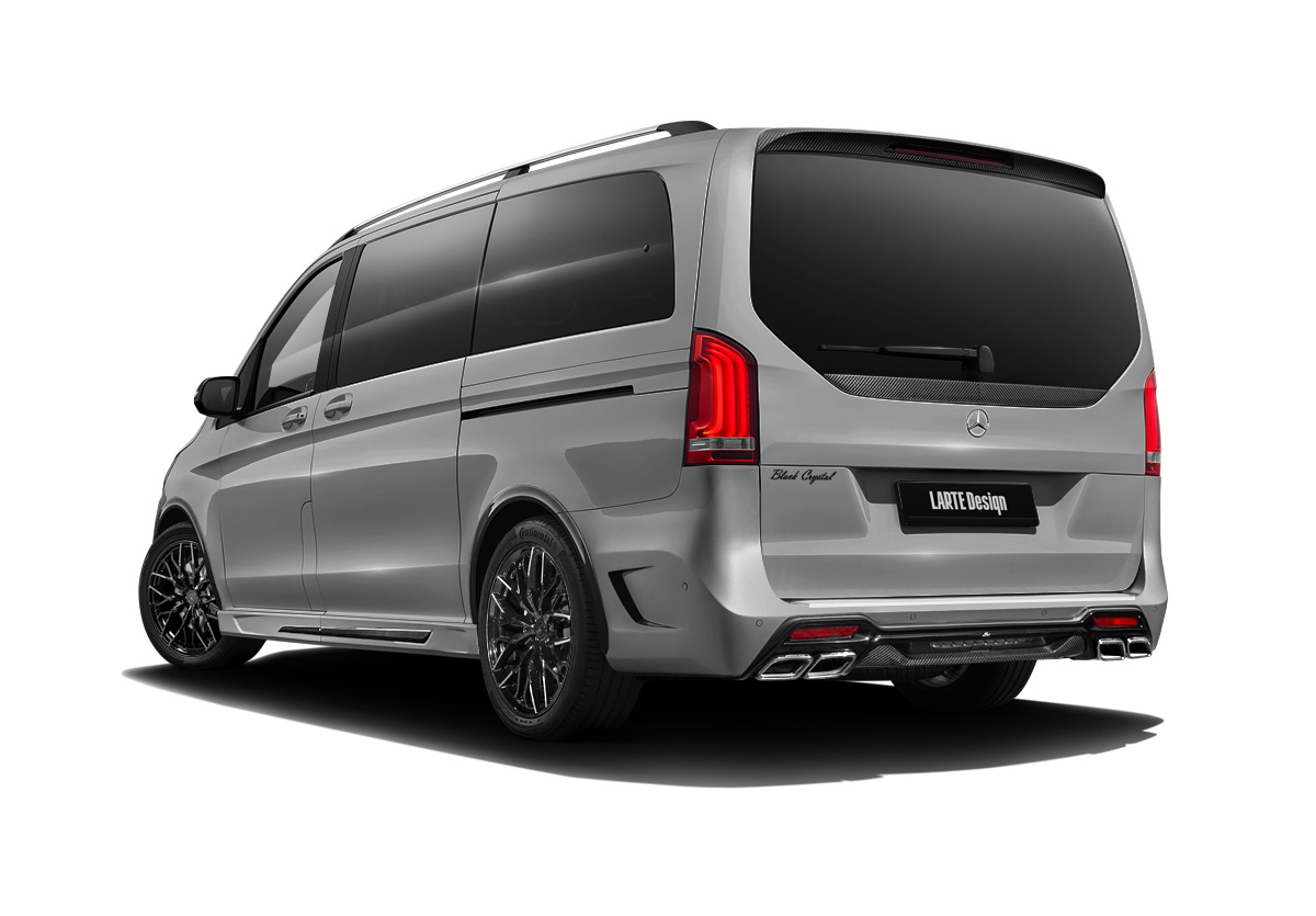 Серый Black Crystal Light для Mercedes V-Class