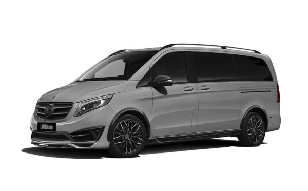 Gray Mercedes V-class side view