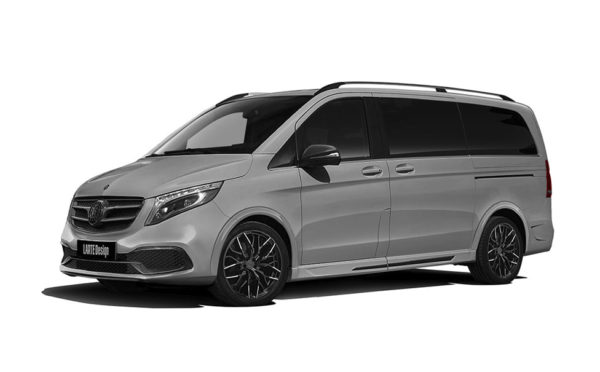 Mercedes V-class side view