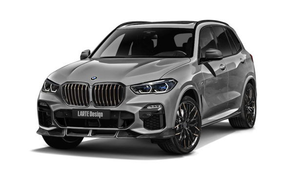 Grey BMW X5 front view