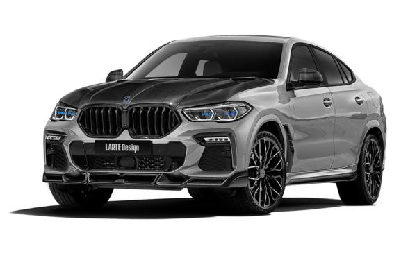 BMW X6 В обвесе от Larte