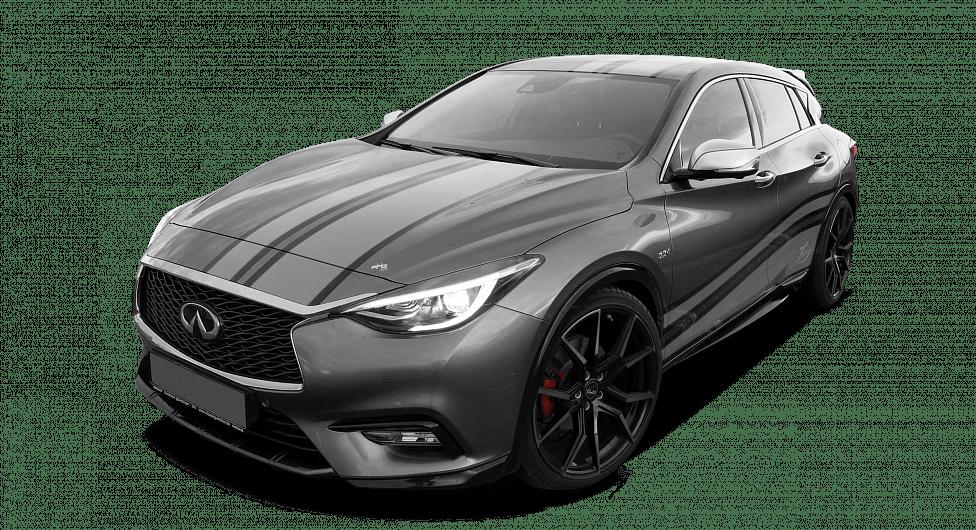 Серый Infiniti Q30 Larte Design