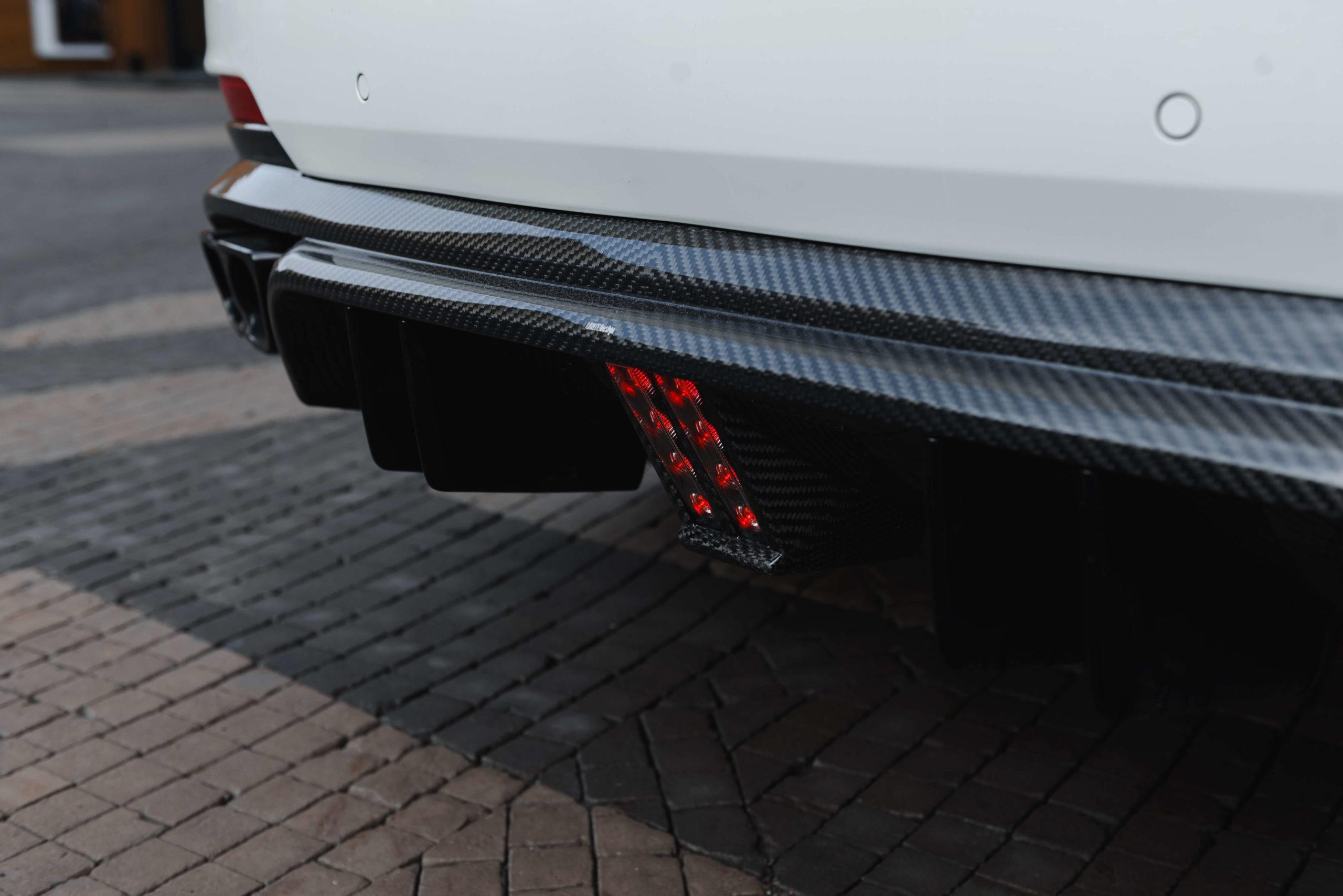 Задний диффузор Maserati Levante от Larte