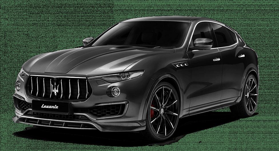 Серый Maserati Levante Shtorm с обвесом от Larte