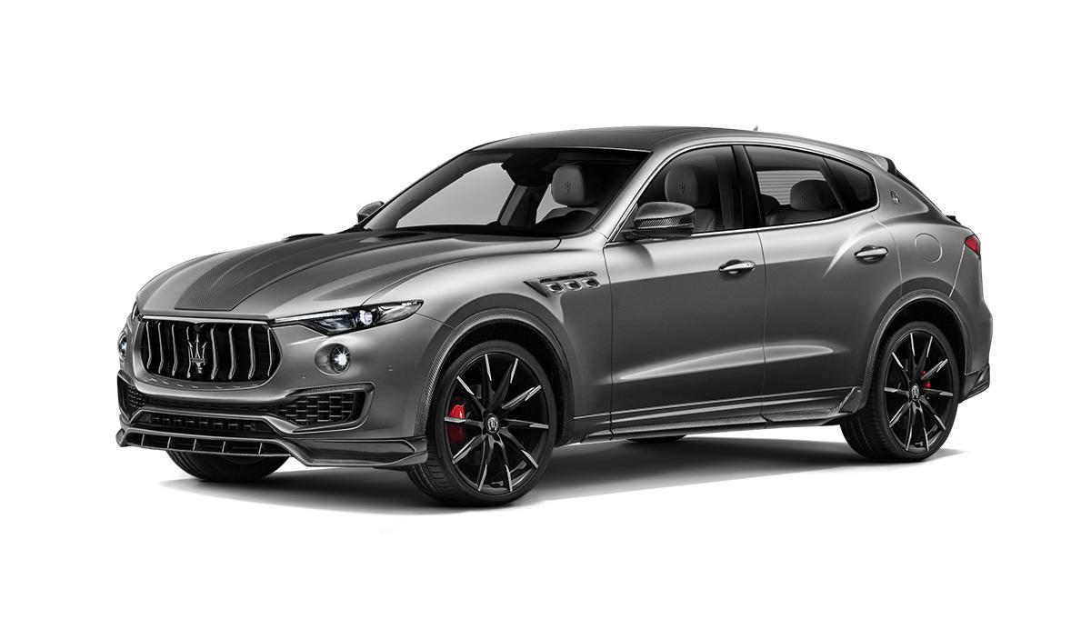 Maserati levante с обвесом Shtorm вид спереди