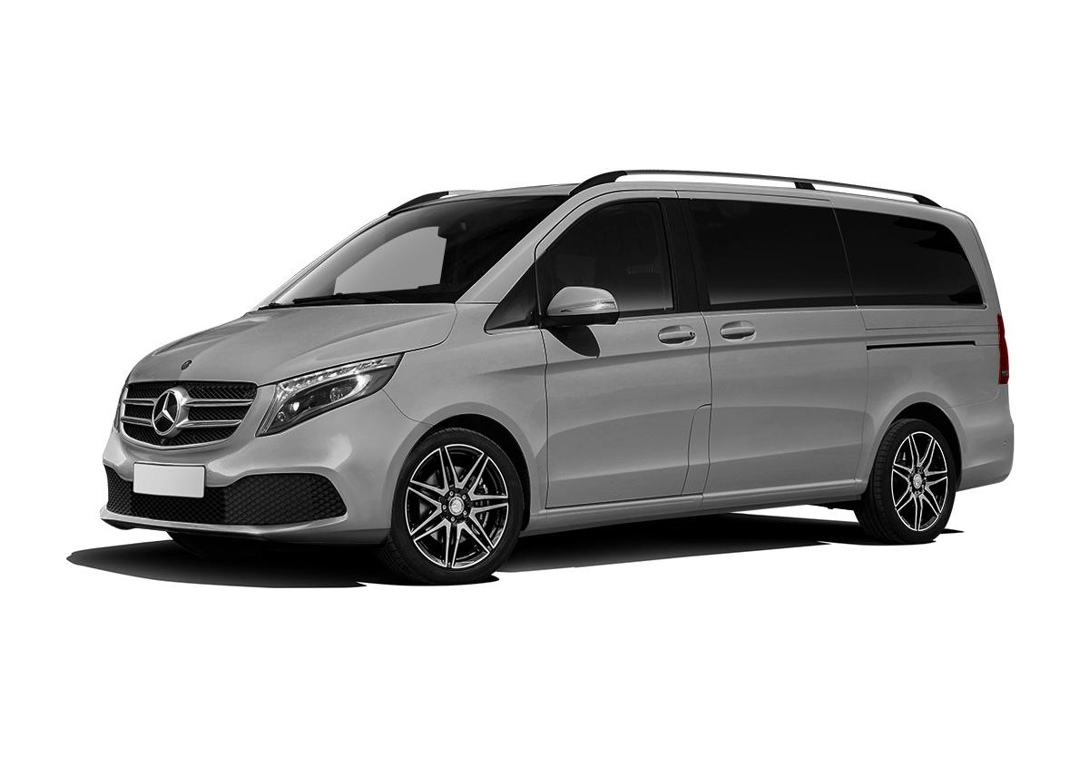 Mercedes-Benz V-class вид сбоку