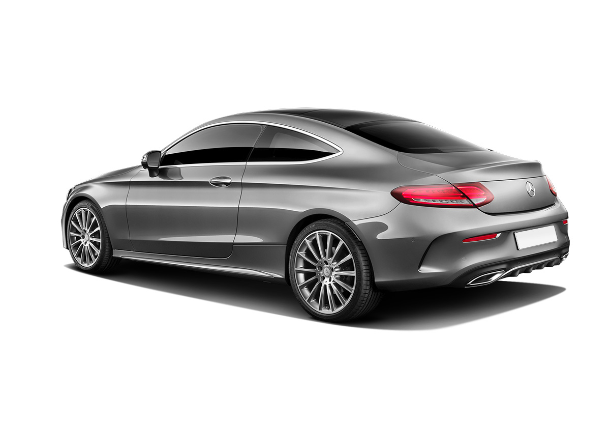 Mercedes-Benz C-class Coupe W205 вид сбоку
