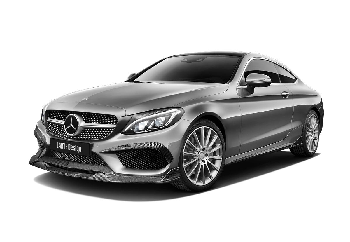 Mercedes-Benz C-class Coupe W205 вид спереди