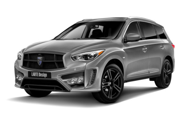 Gray Infiniti QX60 for LR1 front view