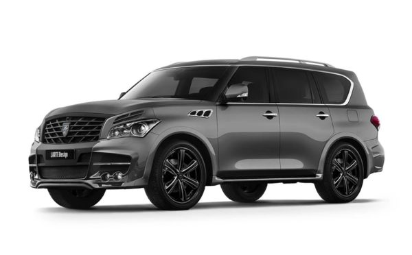 Gray Infiniti QX80 / QX56 for LR3