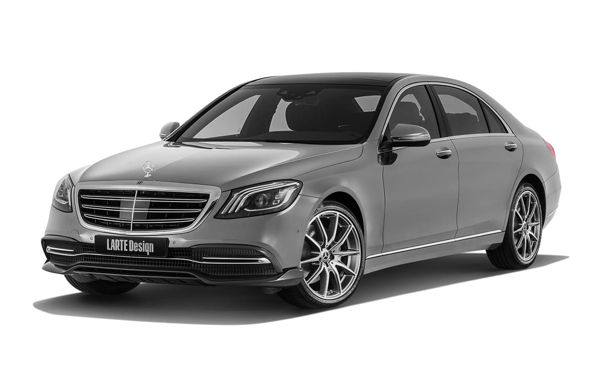 S-class Mercedes-benz с тюнингом от Larte Design