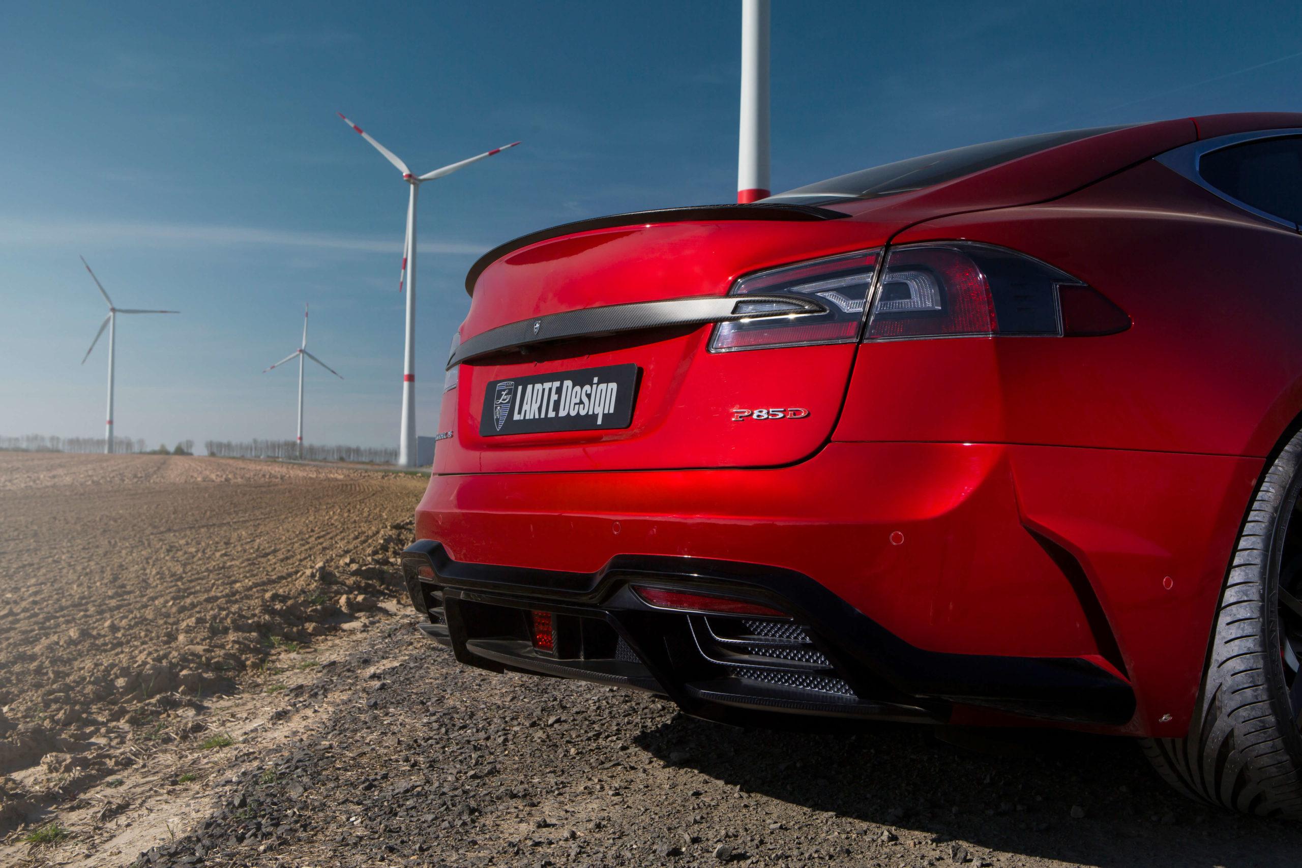 Тюнинговый комплект для Tesla Model S от Larte Design