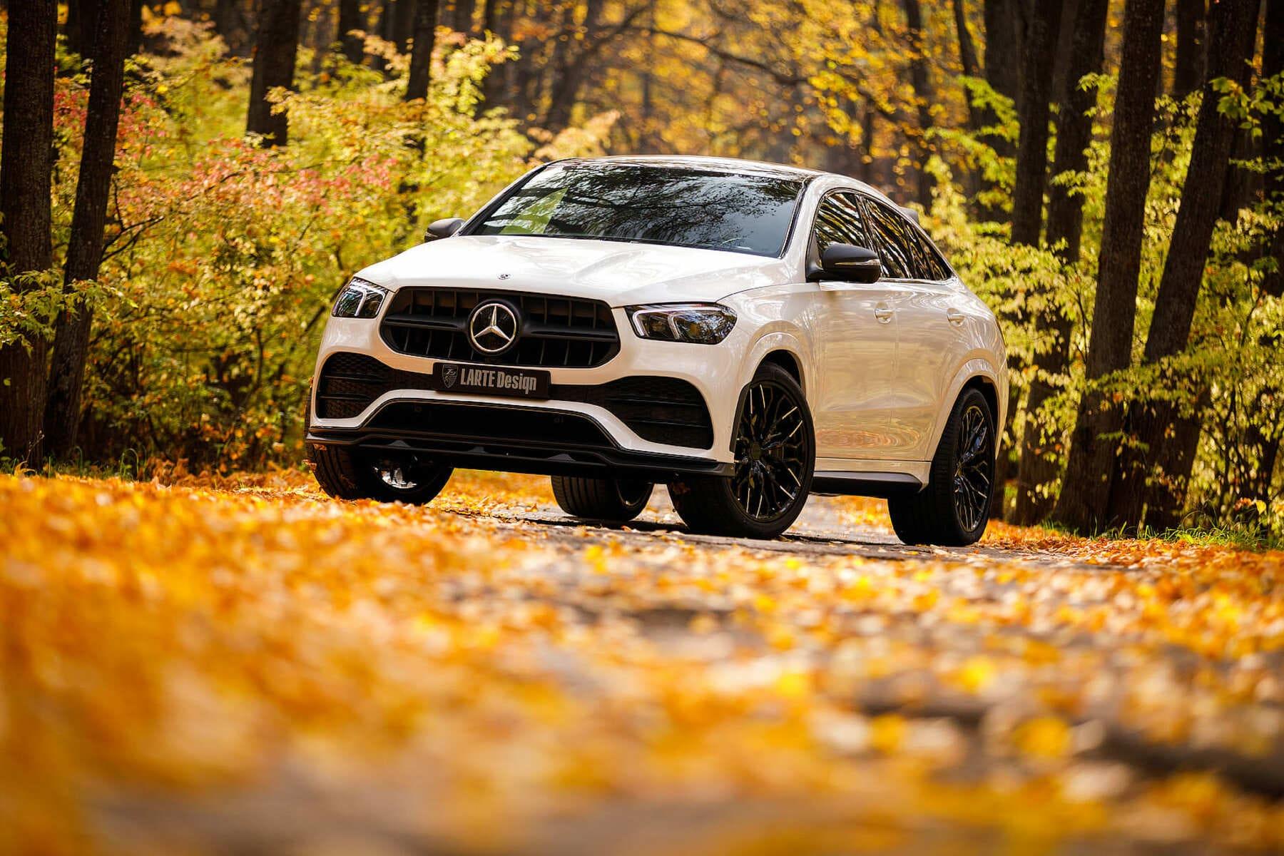 Mercedes-Benz GLE Coupe С167 2019 в обвесе от Larte вид сбоку